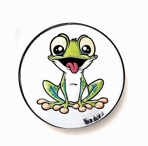 Frosch  - Handyhalter
