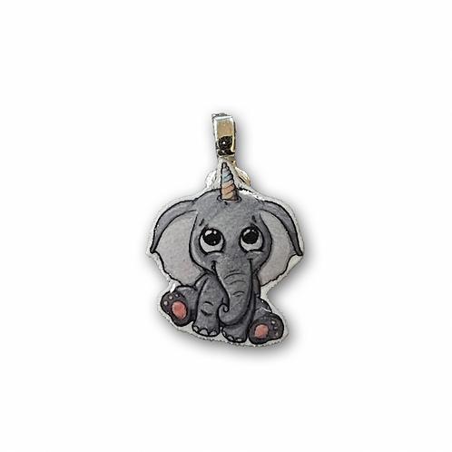 Elefantenhorn - Kettenanhänger