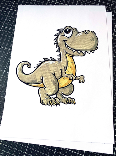 Dinosaurier - Print - adrian.double.u
