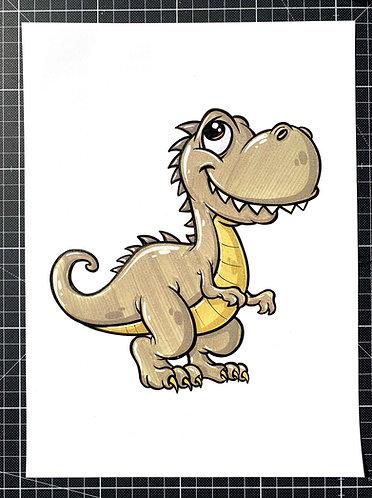 Dinosaurier - Original Zeichnung - adrian.double.u