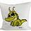 Thumbnail: Baby Alligator Loki - Kissenbezug (Flauschig)
