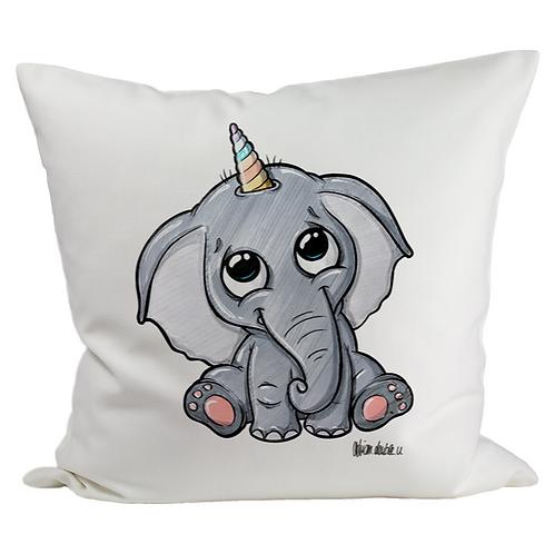 Elefantenhorn - Kissenbezug (Flauschig)