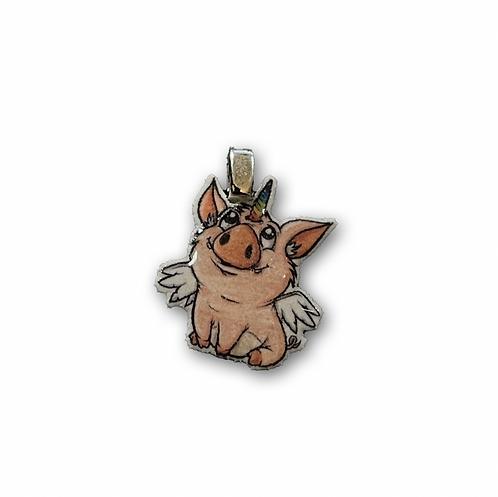 Schweinhorn - Kettenanhänger