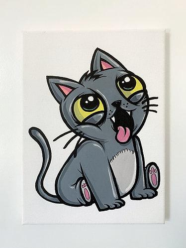 Katze Canvas - a.double.u