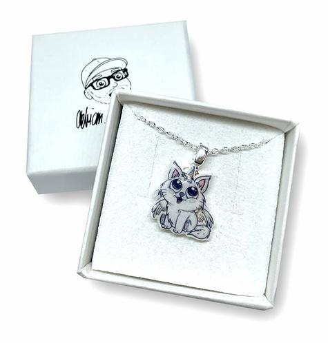 Einhorn Katze - Halskette