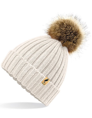 A DOUBLE U - Pop Pom - Beanie