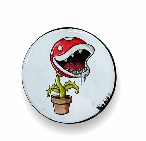 Baby Piranha Pflanze - Handyhalter