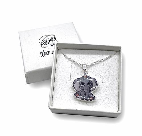 Elefantenhorn - Halskette