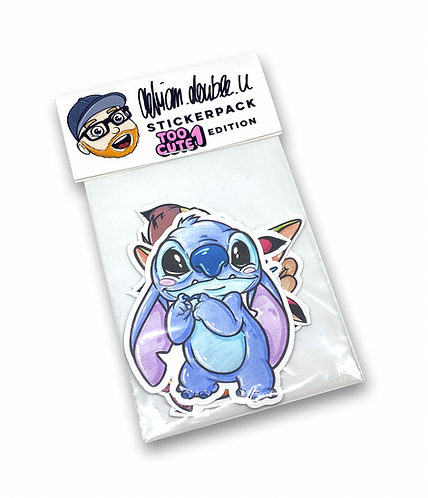 STICKERPACK - TOO CUTE 1