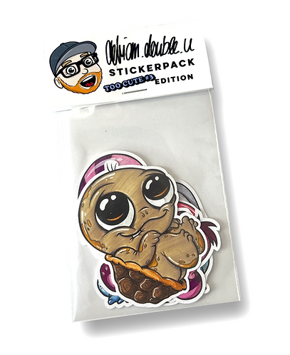 STICKERPACK - TOO CUTE #3  EDITION