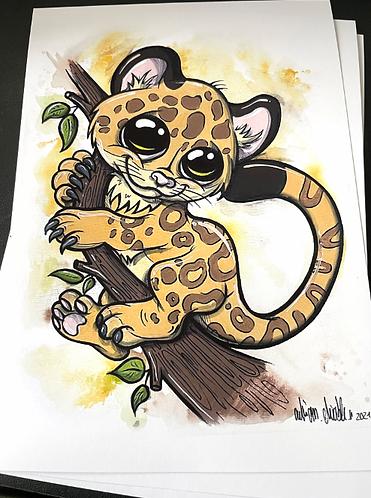 Leopard  - Print - adrian.double.u