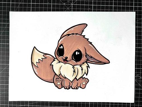 BABY EVOLI - Original Zeichnung - adrian.double.u