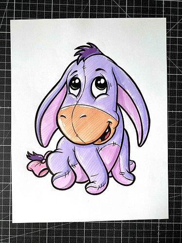 BABY IAH - Original Zeichnung - adrian.double.u