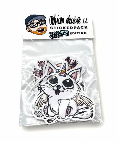 STICKERPACK - TOO CUTE #2  EDITION