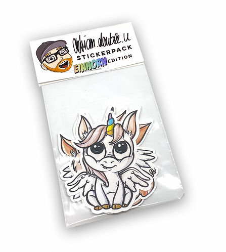 STICKERPACK - EINHORN EDITION