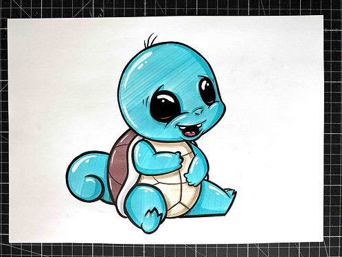 BABY SCHIGGY - Original Zeichnung - adrian.double.u