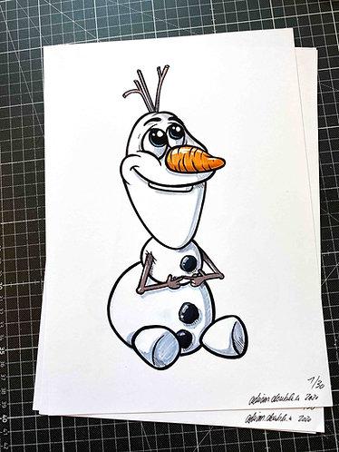 OLAF - Print - adrian.double.u