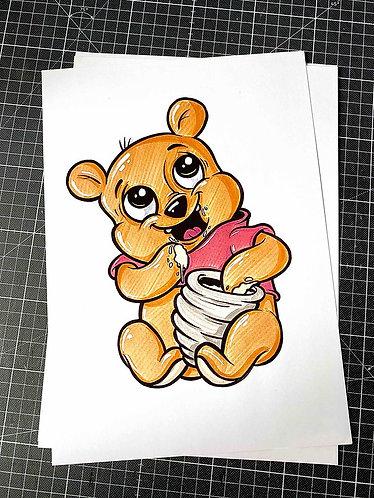 BABY WINNIE - 2.Auflage Print - adrian.double.u
