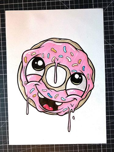 Donut - Original Zeichnung - adrian.double.u