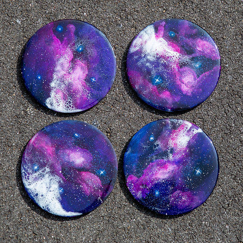 Galactic Coasters Ver 1 (set of 4)