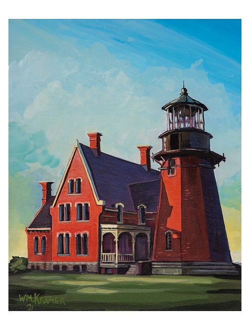 PRINT South East Lighthouse, Block Island, RI