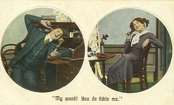 A Private Phone Conversation in 1910