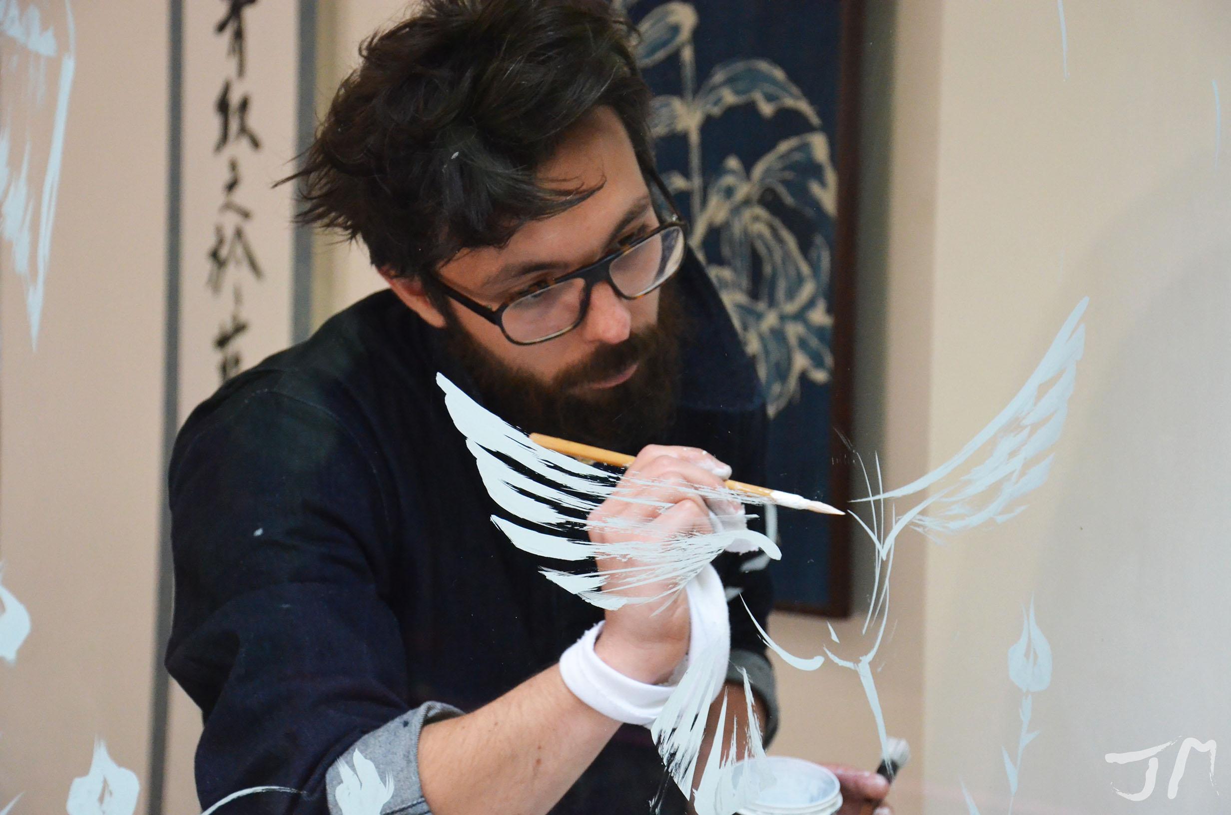 Live Painting Antoine Bertrand