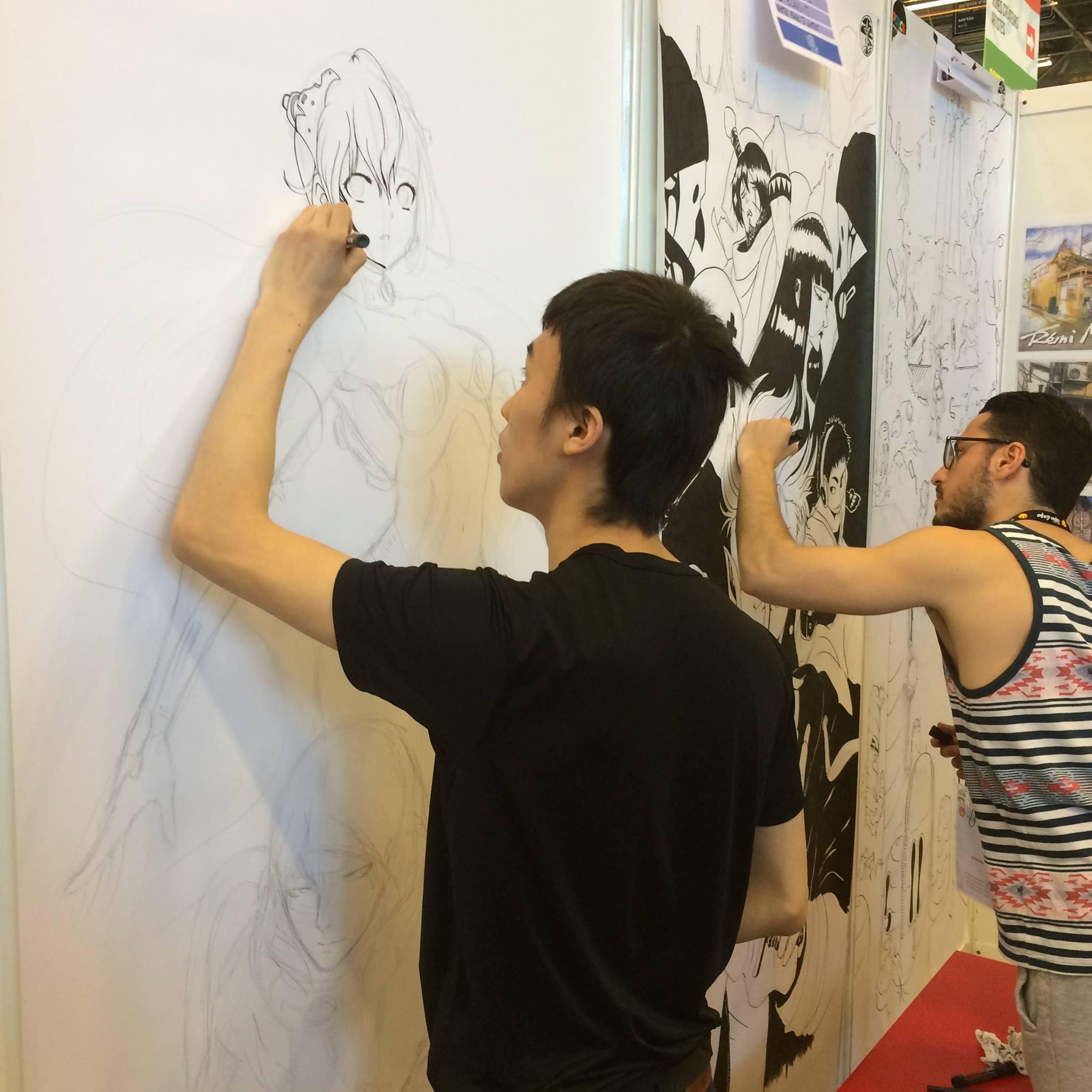 Live Painting KTA5