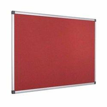 Notice Board - 2ft x 3ft - Red