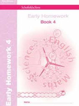 Early Homework Book 4 (Bk. 4)
