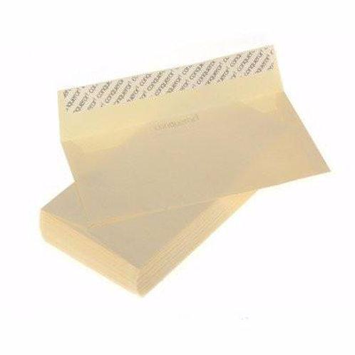 50 Pieces Conqueror Envelope Letter Size- Cream
