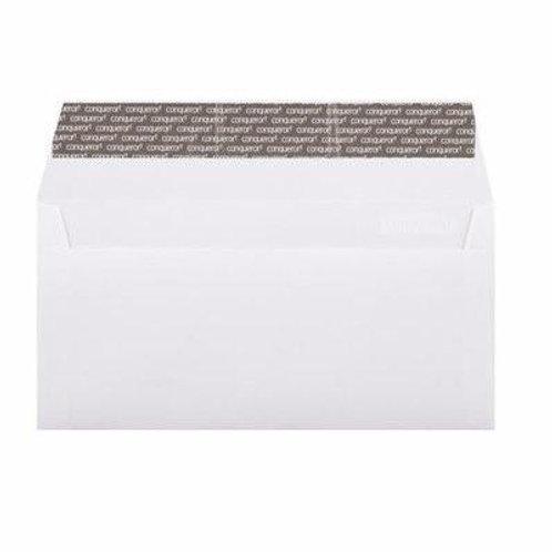 50 Pieces Conqueror Envelope Letter Size - White