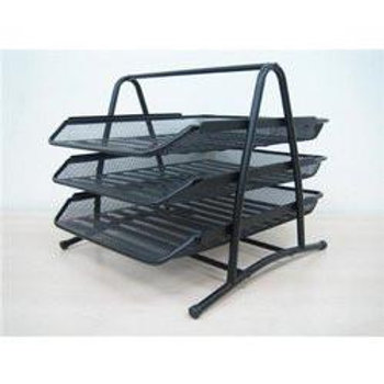 Document File Tray- 3 Tiers