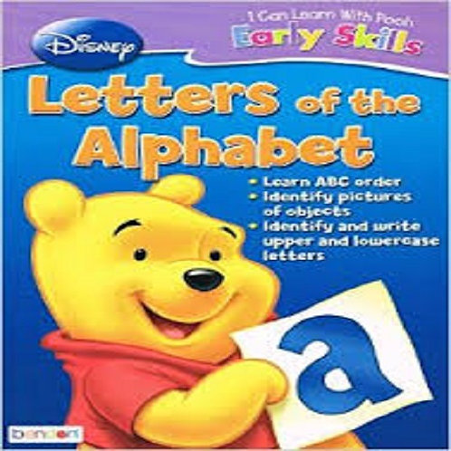 Disney I Can Learn With Pooh Early Basic Skills Letters of The Alphabet