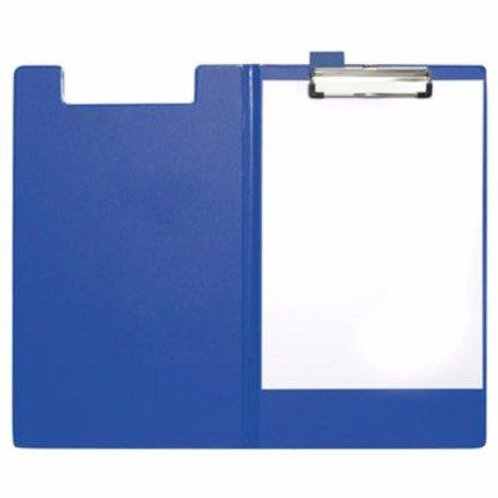 Foolscap Clipboard with Cover - Blue