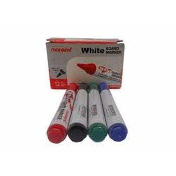 Monami Whiteboard Marker - 12 Pieces