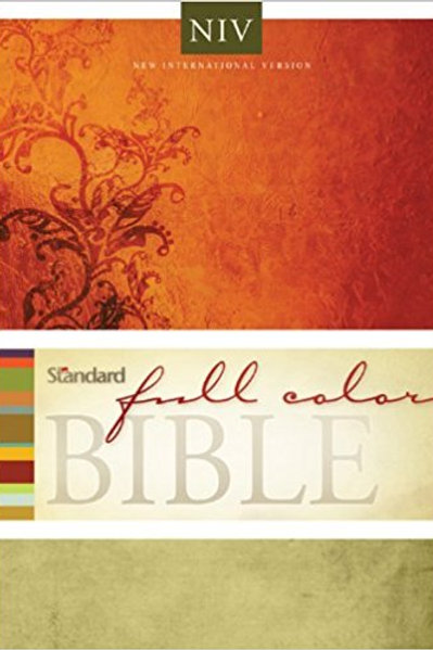 New International Version-Hardcover (Standard Full Color Bible)