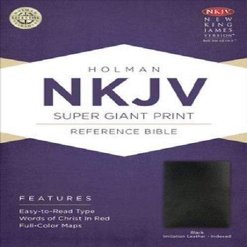 Holman NKJV Super Giant Print Reference Bible