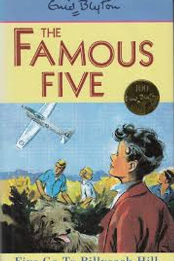 Five Go to Billycock Hill (The Famous Five #16)