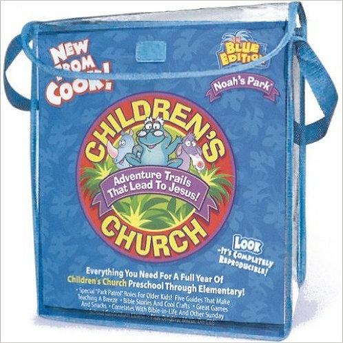 Noah's Park Children's Church Adventure Trails That Lead To Jesus! The Blue Edit