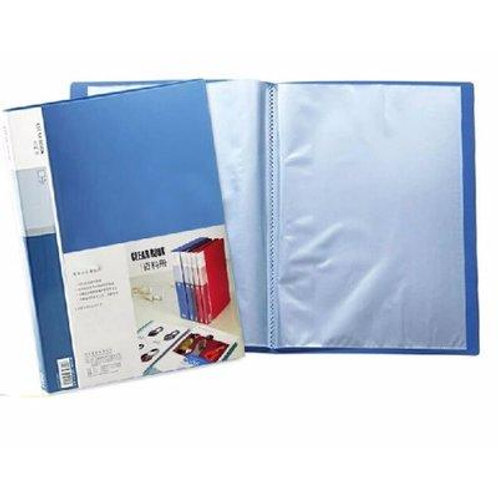 A4 Soft Cover Display File - 100 Pockets