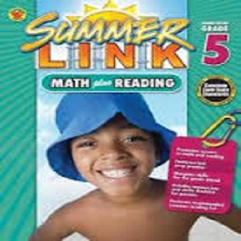 Math Plus Reading Workbook: Summer Before Grade 5 (Summer Link)