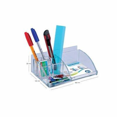 Acrylic Tidy Desktop Organizer - 7by5 inches