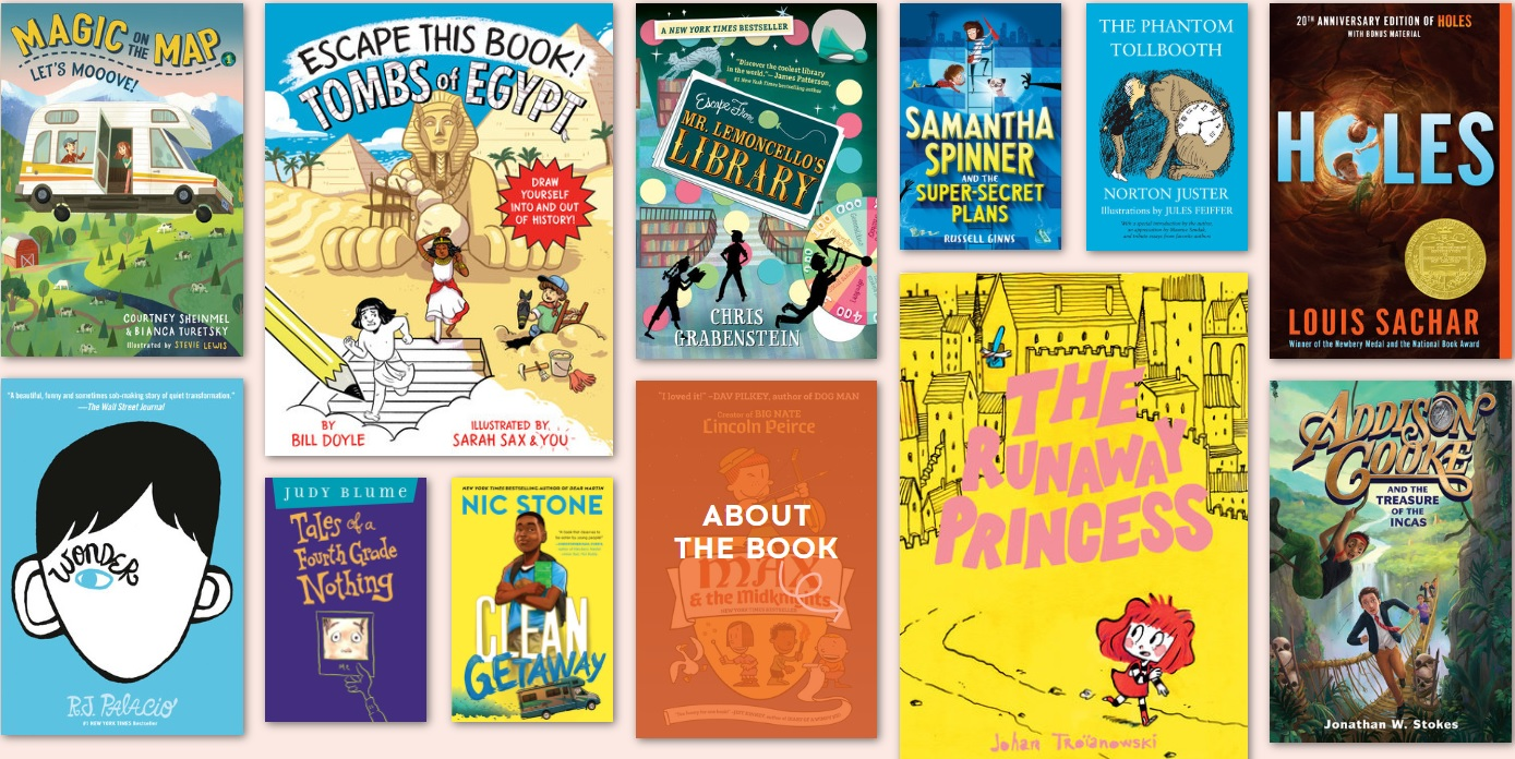 Books for 9-12 kids