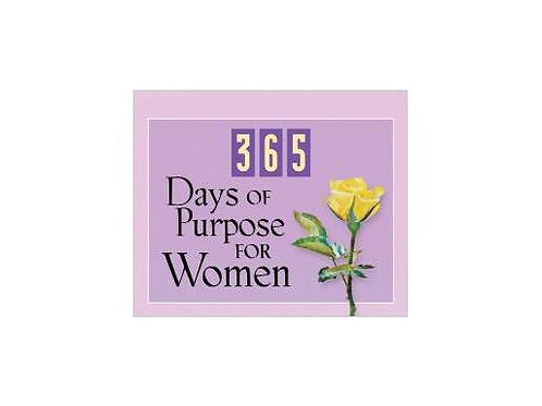365 Days of Purpose for Women Devotional