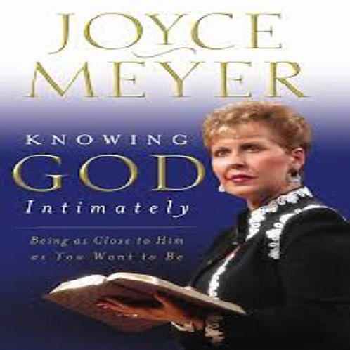 Knowing God Intimately Hard Cover