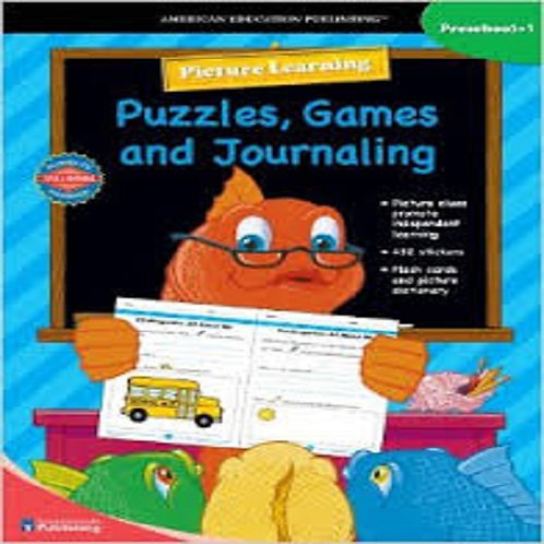 Picture Learning Puzzles, Games, and Journaling