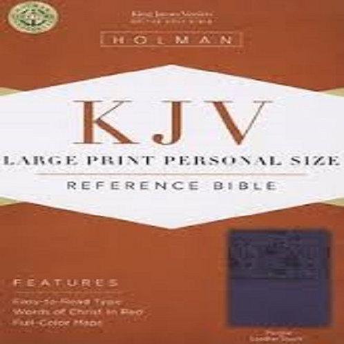 Holman KJV Large Print Personal Size Reference Bible