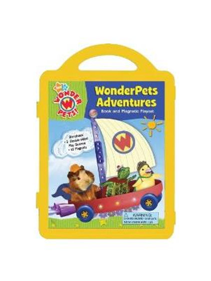 Wonderpets Adventures: Book and Magnetic Playset