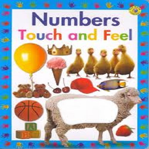 Numbers Touch and Feel (Large Touch 'n' Feel Series)